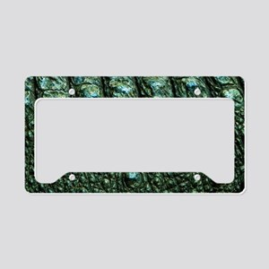 Alligator Skin License Plate Holder
