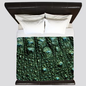 Alligator Skin King Duvet