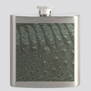 Alligator Skin Flask