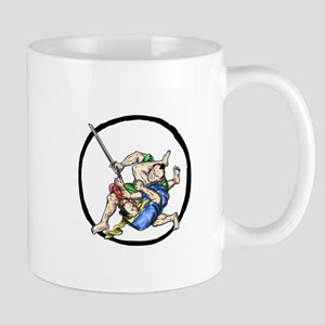 Samurai Jui Jitsu Judo Fighting Enso Tattoo Mugs