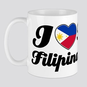 I love my Filipina wife Mug