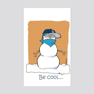"""""""Be Cool"""" Holla Day Swag! Rectangle Sticker"""