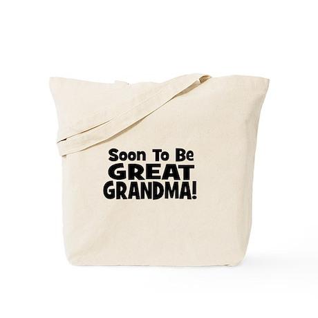 Soon To Be Great Grandma! Tote Bag