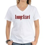 Lounge Lizard Women's V-Neck T-Shirt