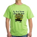Likes Me Best Green T-Shirt