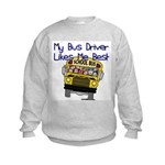 Likes Me Best Kids Sweatshirt