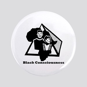 "Black Consciousness 3.5"" Button (100 pack)"