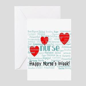 Happy Nurse's Week Greeting Cards