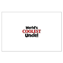 World's Coolest Uncle! Posters