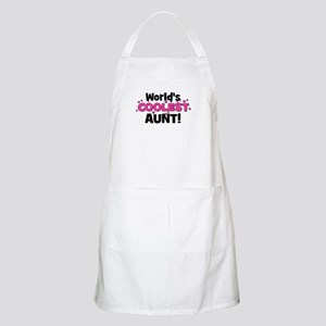 World's Coolest Aunt! BBQ Apron