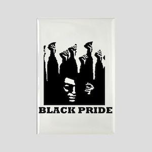 Black Pride Rectangle Magnet
