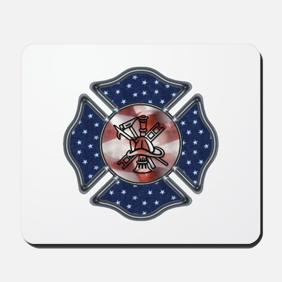 Firefighter USA Mousepad
