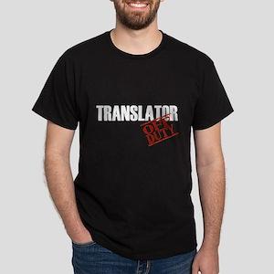 Off Duty Translator Dark T-Shirt