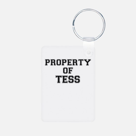 Property of TESS Keychains