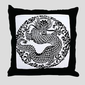 Dragon 11 Throw Pillow