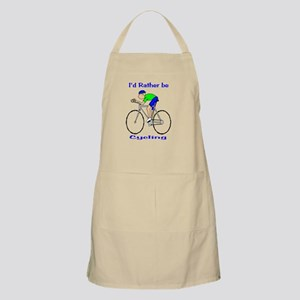 I'd Rather be Cycling BBQ Apron