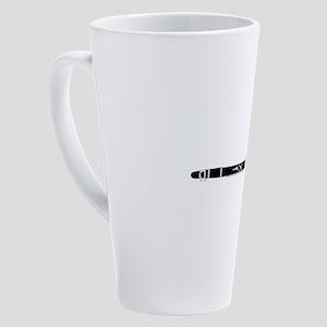 Clarinet 17 oz Latte Mug