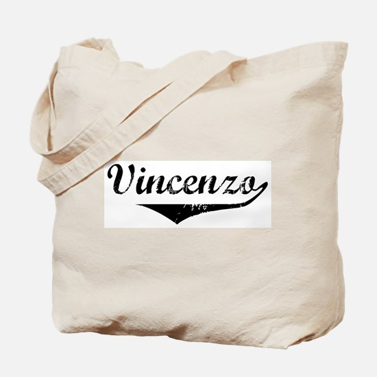 Vincenzo Vintage (Black) Tote Bag