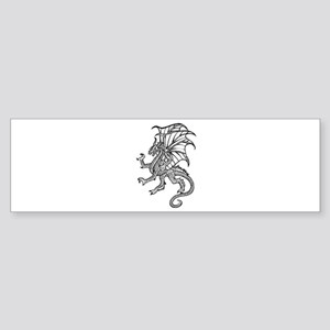 Dragon 12 Bumper Sticker