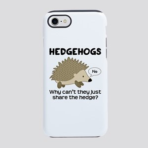 Hedgehog Pun iPhone 8/7 Tough Case
