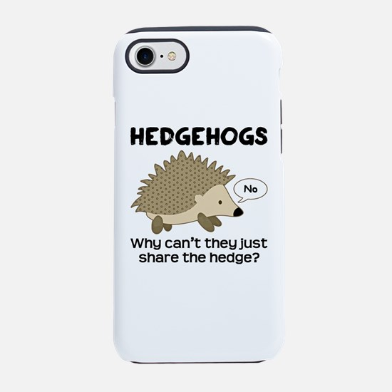 Hedgehog Pun iPhone 8/7 Tough Case