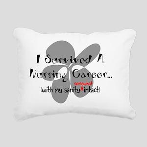 Nurse Retirement Humor Rectangular Canvas Pillow