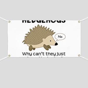 Hedgehog Pun Banner