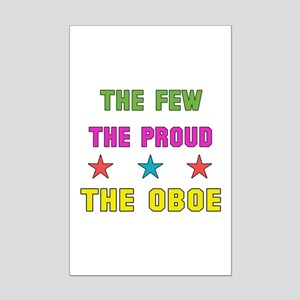 The Few, The Proud, The Oboe Mini Poster Print