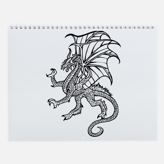 Dragon 12 Wall Calendar