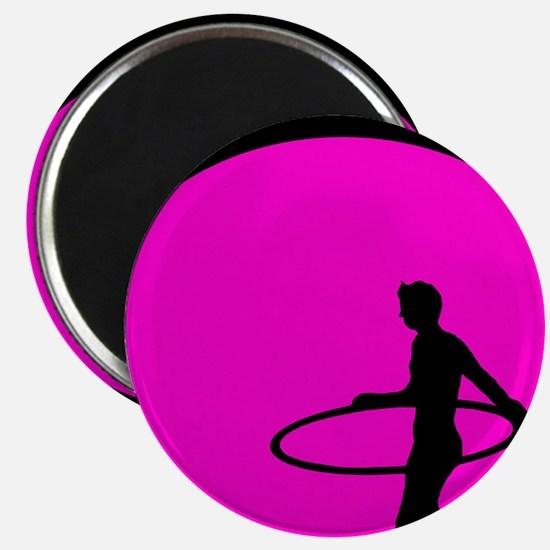 Pink shadow hooper Magnet