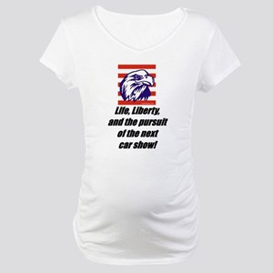 """Car Shows"" Maternity T-Shirt"