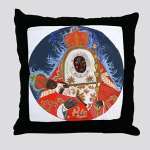 Our Lady of Candlemas Throw Pillow