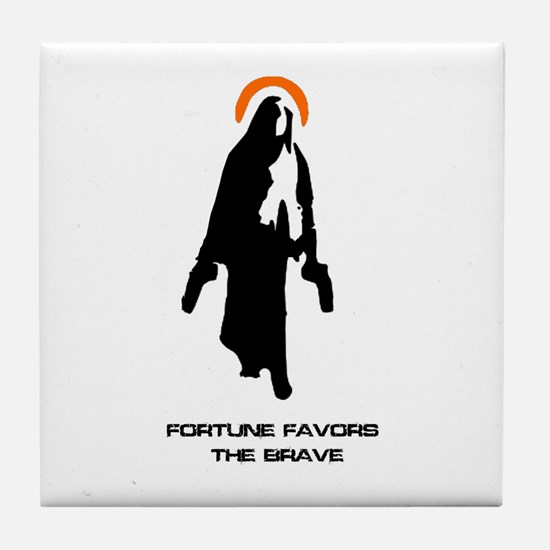 Divine Intervention Tile Coaster