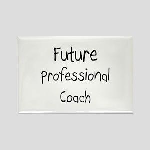 Future Professional Coach Rectangle Magnet