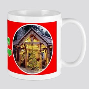 Stable & Wreath Mug