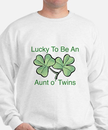Lucky to be Aunt Sweatshirt