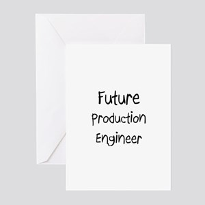 Future Production Engineer Greeting Cards (Pk of 1