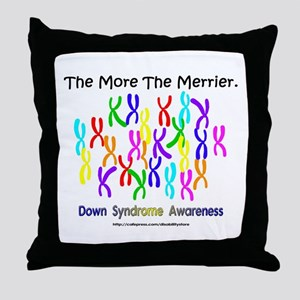 The More The Merrier Throw Pillow