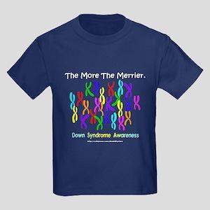 The More The Merrier Kids Dark T-Shirt