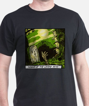 'Night Of The Living Dead' T-Shirt With Backprin T