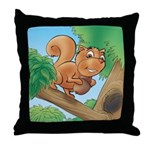 Scrappy's Throw Pillow