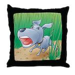 Poindexter's Throw Pillow