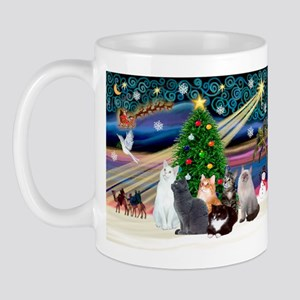 Xmas Magic / Six Cats Mug