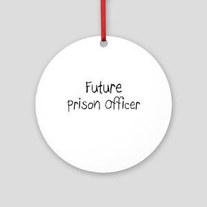 Future Prison Officer Ornament (Round)