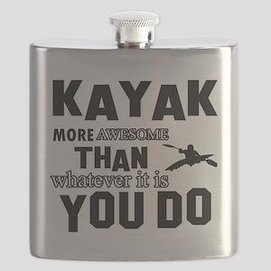 kayak sport design Flask