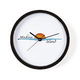 Mackinac island Basic Clocks