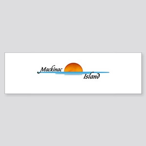 Mackinac Island Sunset Bumper Sticker