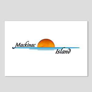 Mackinac Island Sunset Postcards (Package of 8)