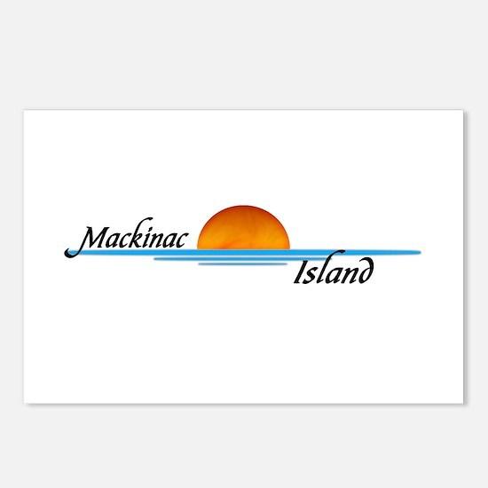 Mackinac Island Sunset Postcards (Package of 8)