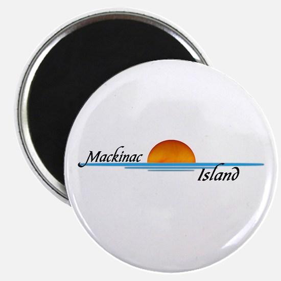 Mackinac Island Sunset Magnet